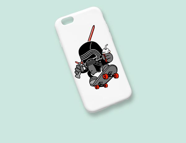 Kylo Skater Iphone Case